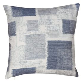 Patchwork Blocks Cushion in Blue