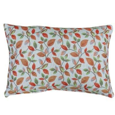 Autumn Trailing Leaves Boudoir Cushion