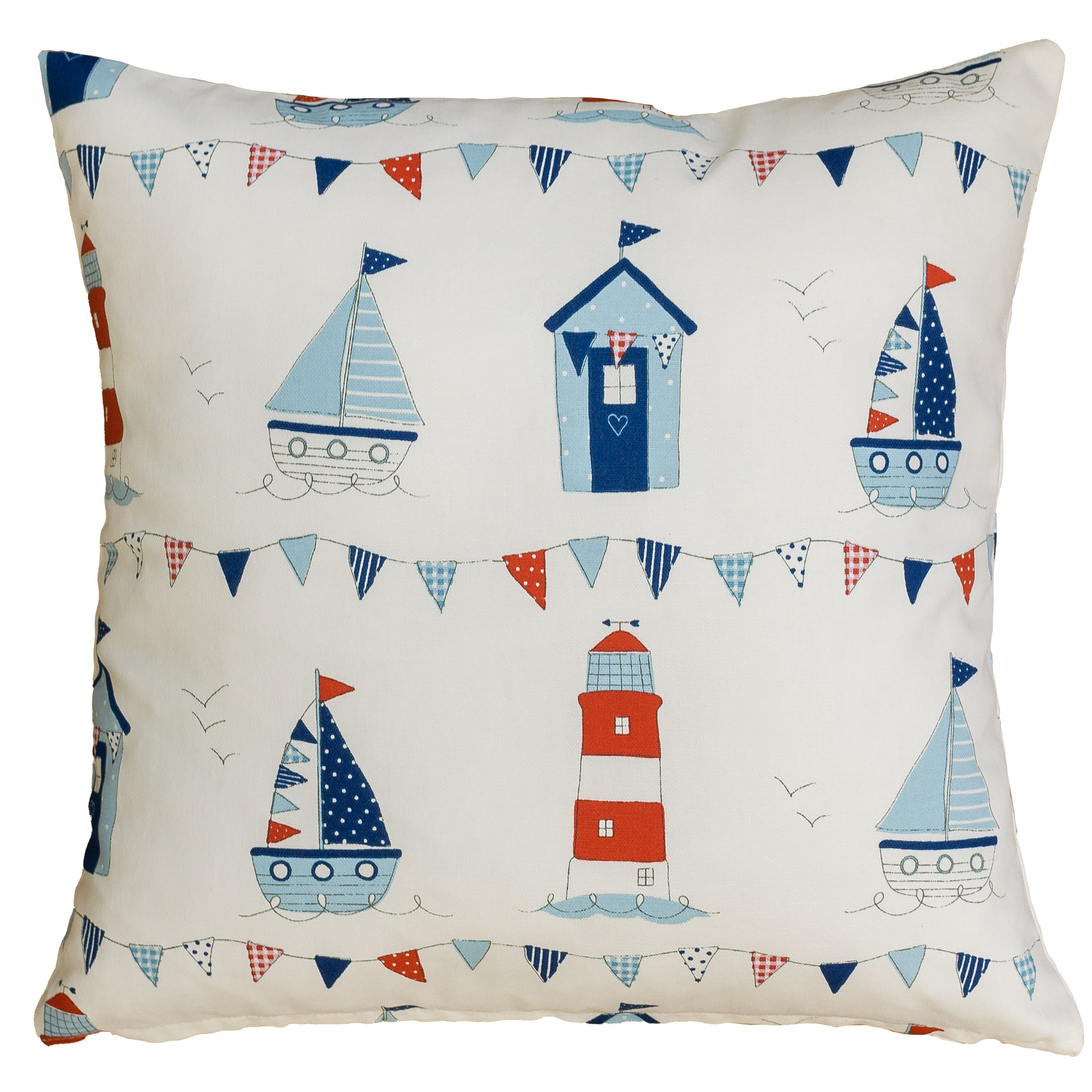 Nautical Seaside Cushion