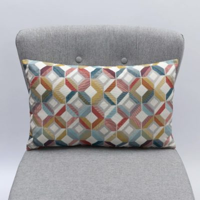 Stella Multi Geometric XL Rectangular Cushion