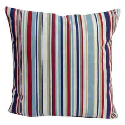 Stripy Nautical Cushion