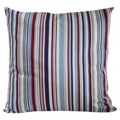 Extra Large Stripy Nautical Cushion