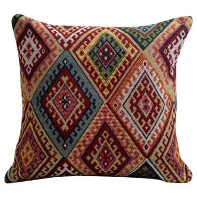 Turkish Kilim Weave Cushion