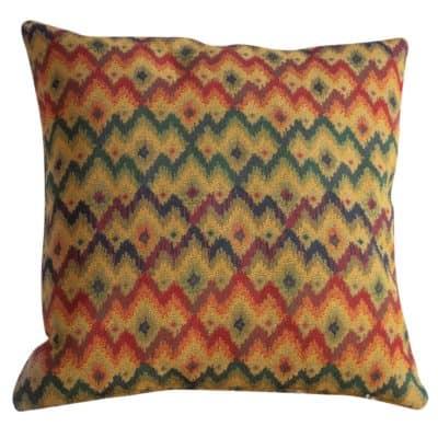 Kilim Chevron Weave Cushion