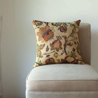 Vintage Tea Rose Cushion