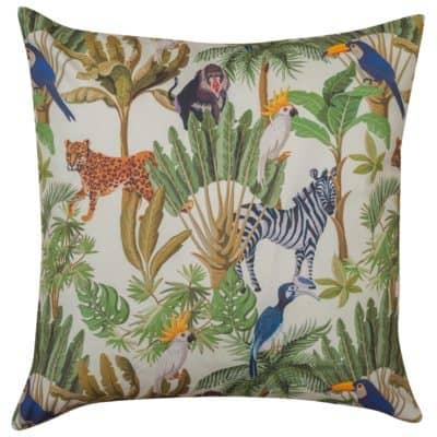 Extra Large Cartoon Jungle Animals Cushion