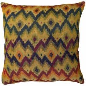 Large Scale Kilim Chevron Weave Extra-Large Cushion