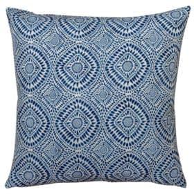 Extra Large Indigo Batik Cushion