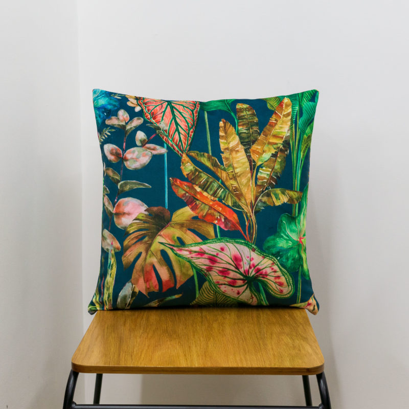 Borneo Velvet Cushion