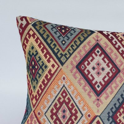 Turkish Kilim Weave XL Rectangular Cushion