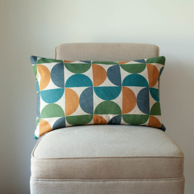 Luna Teal XL Rectangular Cushion