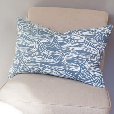 Ocean Waves XL Rectangular Cushion
