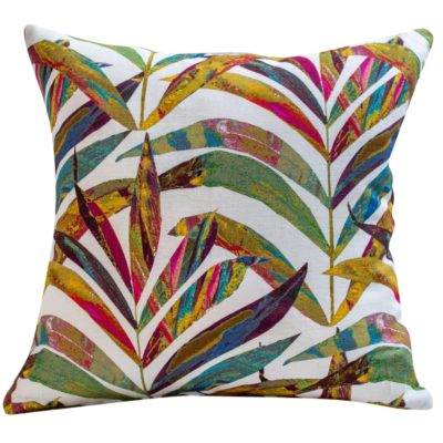 Linen Palm Leaves in Terracotta