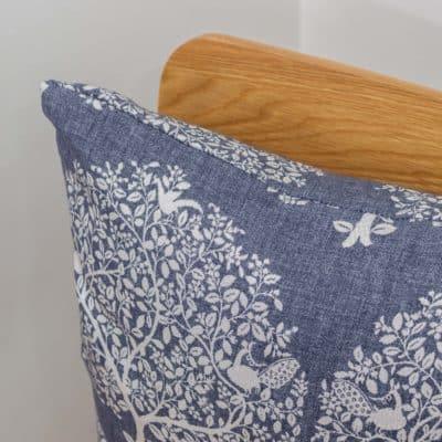 Mulberry Tree Navy Cushion