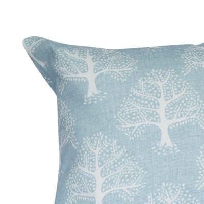 Oak Tree XL Rectangular Cushion in Duck Egg