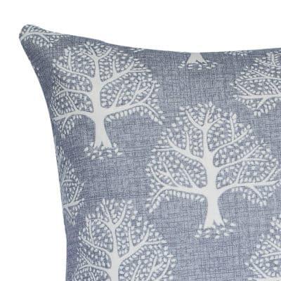 Oak Tree XL Rectangular Cushion in Dove Grey
