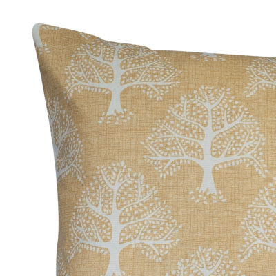 Oak Tree XL Rectangular Cushion in Ochre