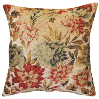 Classique Floral Tapestry Cushion