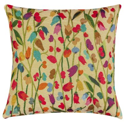 Tulip Tapestry Floral Cushion