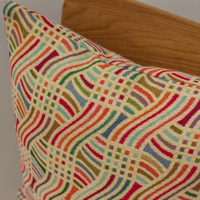 Tapestry Curves Cushion