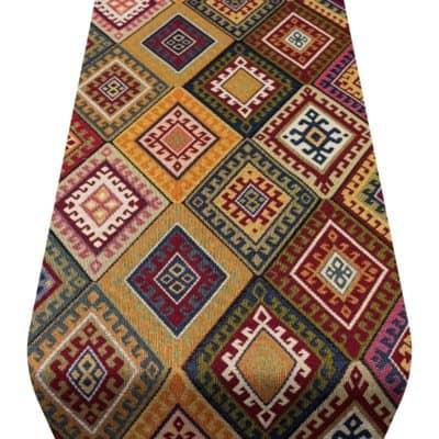 Kilim Weave Table Runner in Vintage