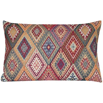 Kilim Weave XL Rectangular Cushion in Vintage