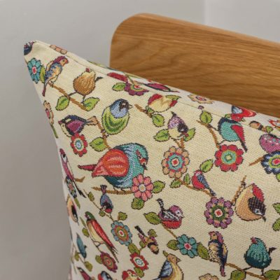 Tapestry Songbird Cushion