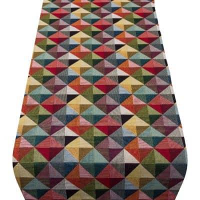Harlequin Tapestry Table Runner