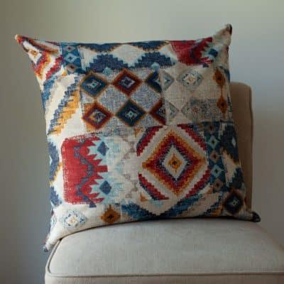 Dakota Printed Extra-Large Cushion
