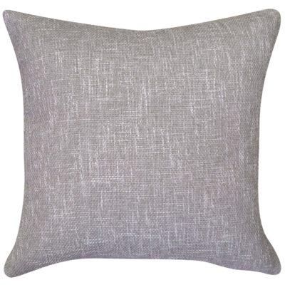 Linen Look Plain Cushion in Hessian