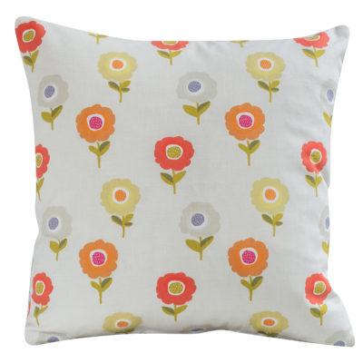 Dainty Scandi Floral Cushion