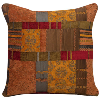 Moroccan Patchwork Cushion
