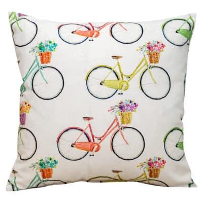 Retro Bikes Cushion