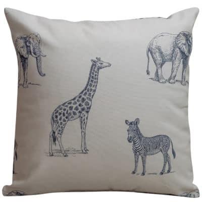 Safari Cushion in Cream