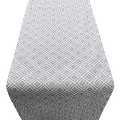 Scandi Ikat Runner Grey