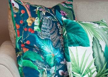 Tropical Jungle Cushions