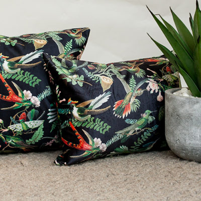 Velvet Cushion Collection